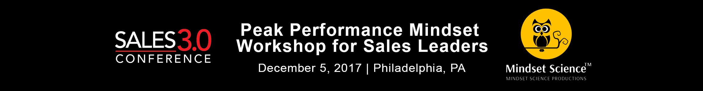 Peak Performance Mindset Workshop for Sales Leaders