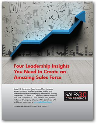 Four Leadership Insights You Need to Create an Amazing Sales Force